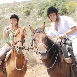חבילה 1 - רכיבה על סוסים זוגית